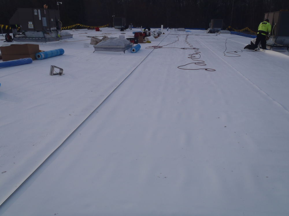 Major Differences Between Modified Bitumen U0026 Single Ply Roof Systems