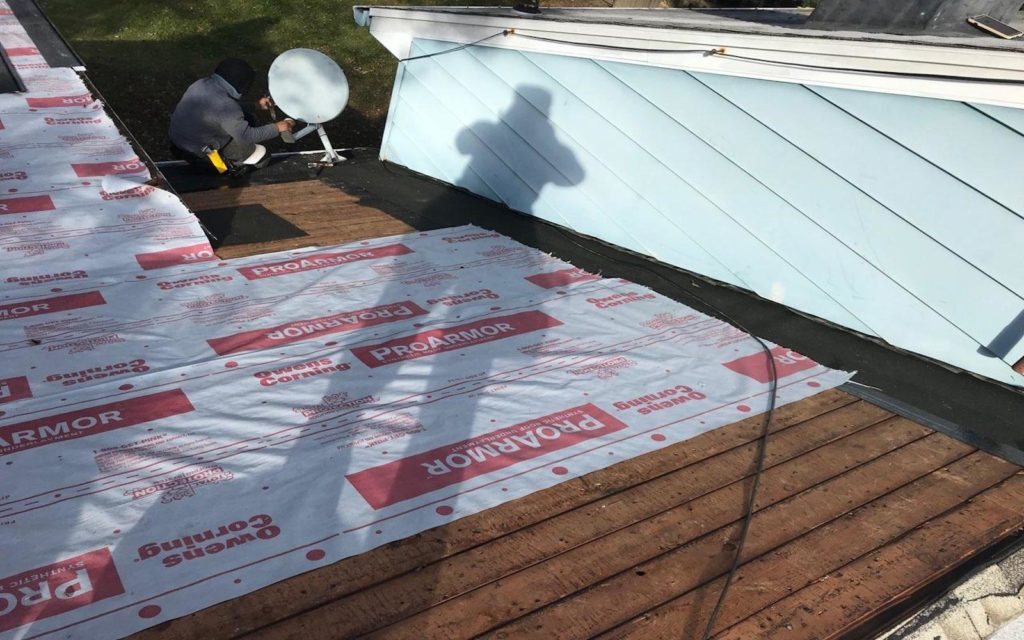 synthetic underlayment