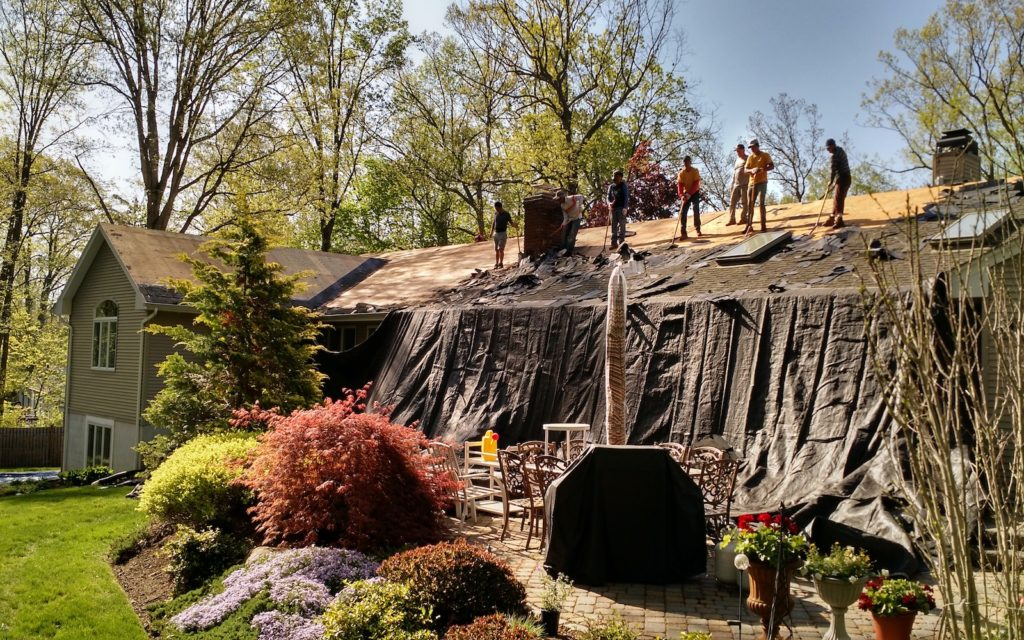 residential roof replacement bergen county