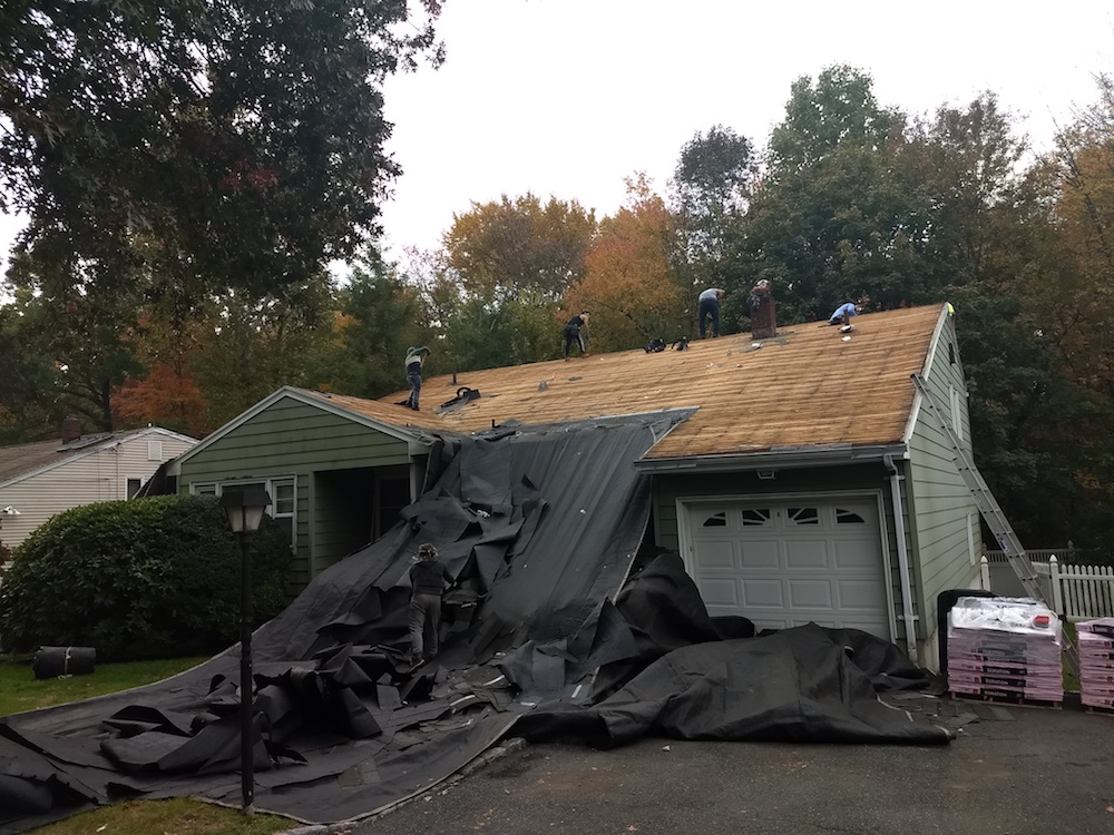how long does roof replacement take